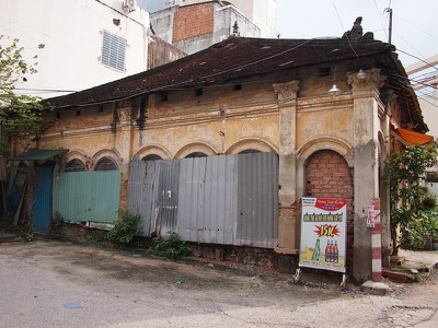Endangered heritage buildings in Saigon